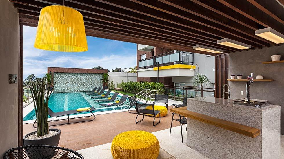 Foto da piscina
